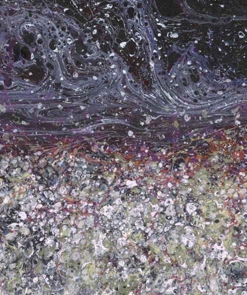 Pink and Black Marble ©2008 Dedree Drees