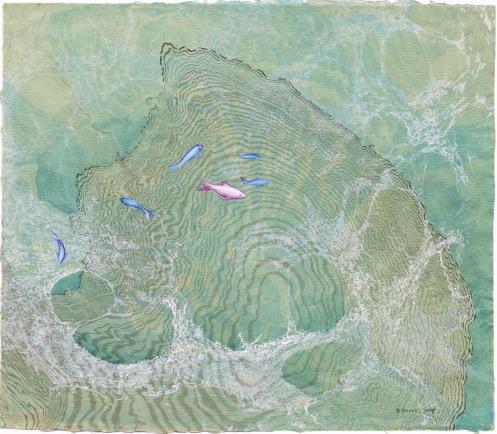Seagreen Suminigashi  ©2008 Dedree Drees